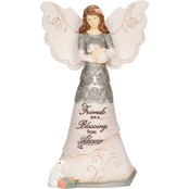Pavilion Friends are a Blessing Angel Figurine