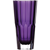 Waterford Jeff Leatham 9.8 in. Amethyst Vase