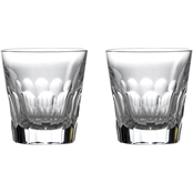 Waterford Jeff Leatham Icon Double Old Fashioned Pair Set of 2