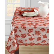 Benson Mills Leaves Lace Tablecloth