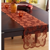 Benson Mills Leaves Lace Table Runner