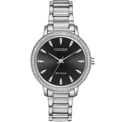 Citizen Women's Eco Drive Silhouette Crystal FE7040-53E