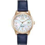 Citizen Women's Eco Drive World Time Watch FC8003-06D