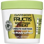 Fructis Smoothing Treat 1 Minute Hair Mask with Avocado Extract