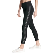 DKNY High Waist 7/8 Logo Taping Tights