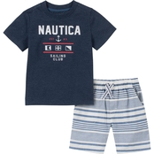 Nautica Infant Boys Tee Short 2 pc. Set