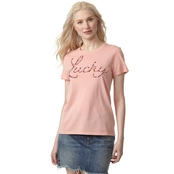 Lucky Brand Lucky Flower Top