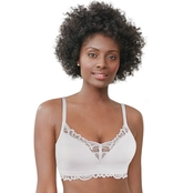 Bali Lace Desire Tailored with Lace Convertible Wirefree Bra