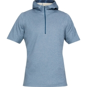 Under Armour Athlete Recovery Short Sleeve Half Zip