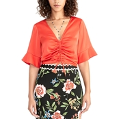 Rachel Roy Stacey Ruched Top