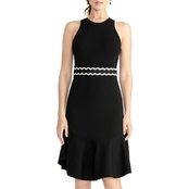 Rachel Roy Ella Halter Sweater Dress