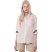 Tommy Hilfiger Core Roll Tab Top