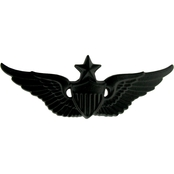 Army Senior Aviation Badge Sta-Black Pin-On