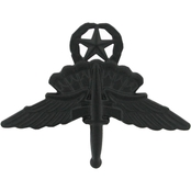 Army Master Halo Wings Badge Sta-Black Pin-On