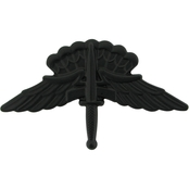 Army Basic Halo Wings Badge Sta-Black Pin-On