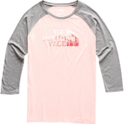 The North Face Heritage Baseball Tri Blend Tee