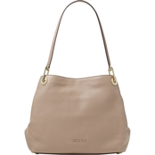 Michael Kors Raven Large Shoulder Tote Leather Truffle