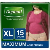 DEPEND Fit Flex UW Max ABS Wmn XL