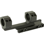 Midwest Industries QD Scope Mount 1 in. with 1.5 in. Offset, Black