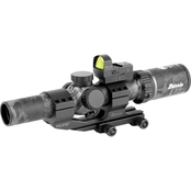 Burris MTAC 1-4X24 IR with FastFire Black Out Riflescope