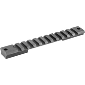 Warne Scope Mounts Tactical 1 pc. Base, Fits Remington Short Action 20 MOA, Matte
