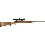 Savage Axis II XP Hardwood 7mm-08 22 in. Barrel 4 Rd Rifle Black Bushnell 3-9x40mm