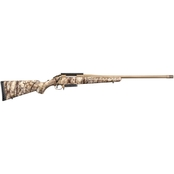 Ruger American 300 Win Mag 24 in. Barrel 3 Rnd Rifle Bronze with Scope Base
