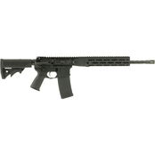 LWRC Direct Impingement Rifle 556NATO 16.1 in. Barrel 30 Rds Rifle Black