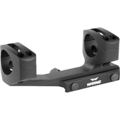 Warne Scope Mounts Gen 2 Mount 1 in., fits AR Rifles, Extended Skeletonized, Black