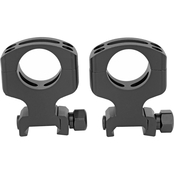 Warne Scope Mounts Tactical Ring, fits AR-15 1 in. Ultra High, Matte