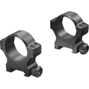Leupold BackCountry Cross-Slot Rings 1 in. Medium, Matte