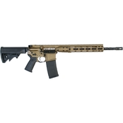 LWRC Direct Impingement Rifle 556NATO 16.1 in. Barrel 10 Rds Rifle Bronze