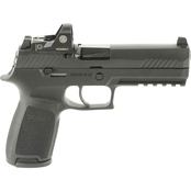 Sig Sauer P320 Full Size 9MM 4.7 in. Barrel 17 Rds Pistol Black with Romeo1