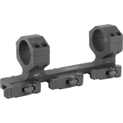 Midwest Industries Extreme Duty QD Scope Mount 30mm 3 QD Levers Black