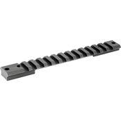 Warne Scope Mounts Tactical 1 pc. Base, fits Remington LA 20 MOA, Matte