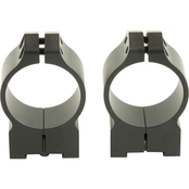 Warne Scope Mounts Tikka Permanent Attach Ring 30mm Med Matte