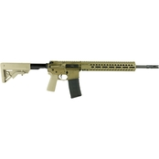 FN FN15 Tactical Carbine P-LOK 556NATO 16 in. Barrel 30 Rds Rifle Flat Dark Earth
