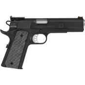Springfield Range Officer Elite Target 45 ACP 5 in. Barrel 7 Rds 2-Mags Pistol Blk