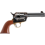 Cimarron Pistolero 45 LC 4.75 in. Barrel 6 Rds Revolver Color Case Hardened