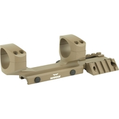 Warne Scope Mounts, RAMP 1 pc. Base for AR-15 30mm, Dark Earth