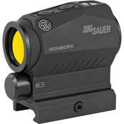 SIG Sauer Romeo5X Red Dot 1x20 2MOA 1913 Sight