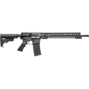 Patriot Ordnance Factory Constable 5.56 NATO 16.5 in. Barrel 30 Rnd Rifle Black