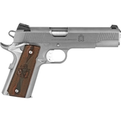 Springfield Loaded 45 ACP 5 in. Barrel 7 Rds 2-Mags Pistol Black