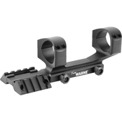 Warne Scope Mounts RAMP 1 pc. Base, fits AR15 34mm, Matte