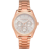 COACH Women's Preston Rose Gold Bracelet Watch 14503267