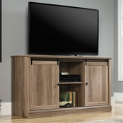 Sauder Barrister Lane Sliding Door Entertainment Credenza