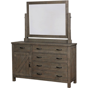 Furniture of America Brenna 5 Drawer Dresser
