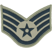 Air Force Rank SSgt E-5 Subdued Large (ABU)