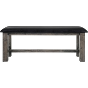 Elements Nathan Upholstered Dining Bench