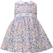 Bonnie Jean Infant Girls Ditsy Floral Peter Pan Collar Dress